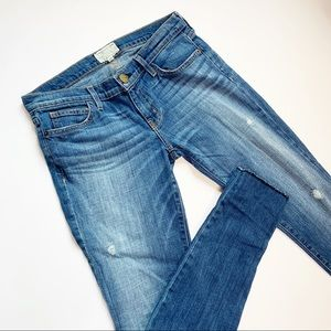 Current/Elliott The Rolled Skinny Wager Jeans
